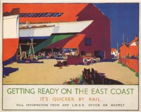 Vintage Railway poster - London & North Eastern Railway, 1936